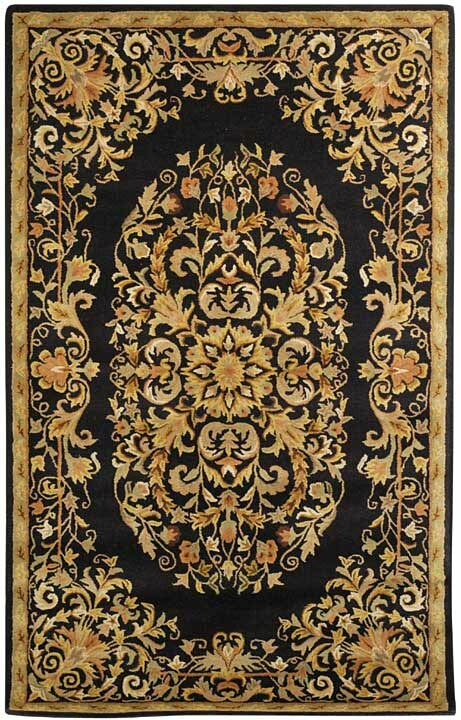 Astoria Grand Balthrop Black Gold Area Rug Amp Reviews Wayfair