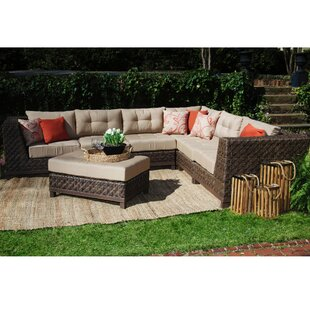 Larosa 7 Piece Sunbrella Sectional Seating Group With Cushions