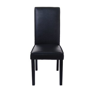 Exceptionnel Leather Parsons Dining Chairs | Wayfair