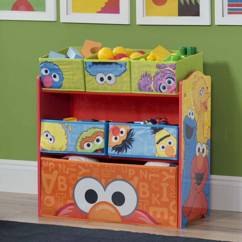 d9f8e886 Delta Children Sesame Street Multi Bin Organizer & Reviews | Wayfair