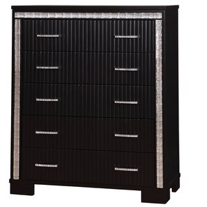 Viridian 5 Drawer Chest by House of Hampton