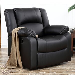 Dorine Overstuffed Armrest and Back Recliner & Padded Overstuffed Recliner | Wayfair islam-shia.org