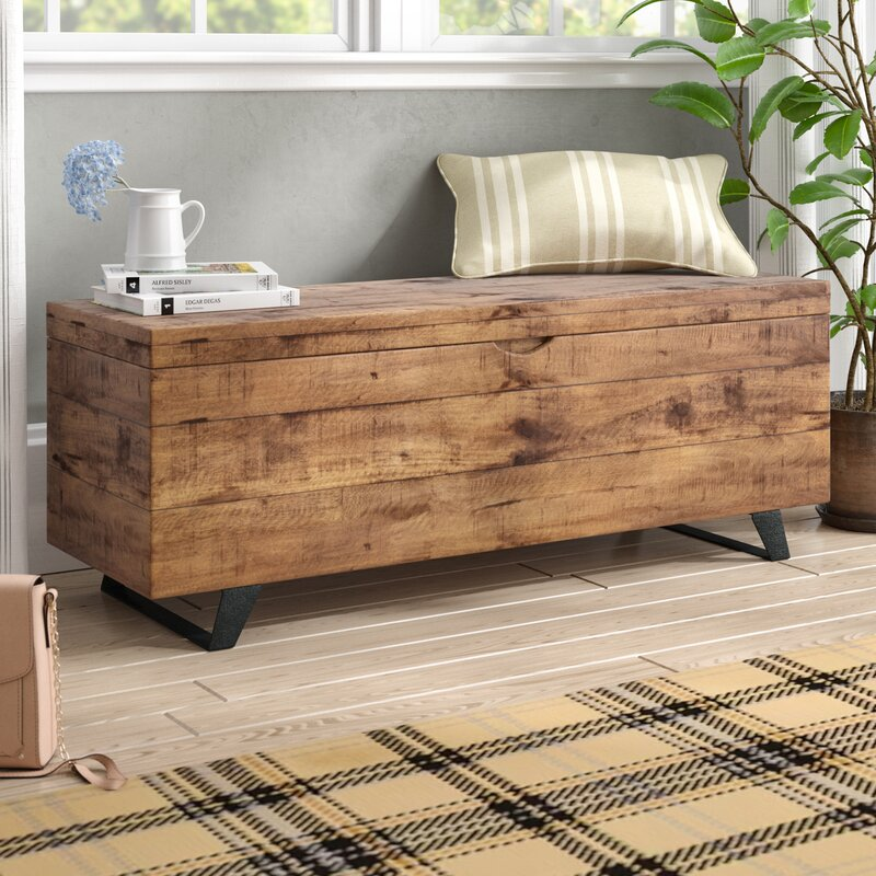 Laurel Foundry Modern Farmhouse Glenns Storage Trunk