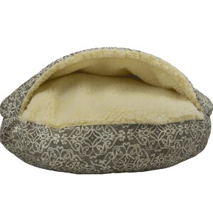 Wag Indoor/Outdoor Cozy Cave Hooded Dog Bed