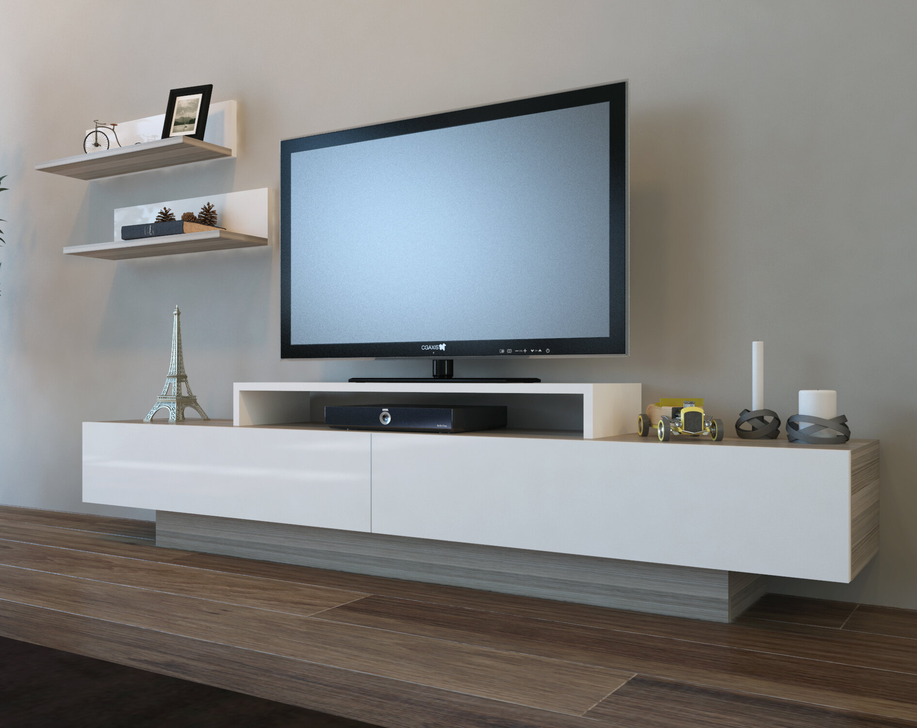 Orren Ellis Pritts Tv Stand For Tvs Up To 60 Reviews Wayfair