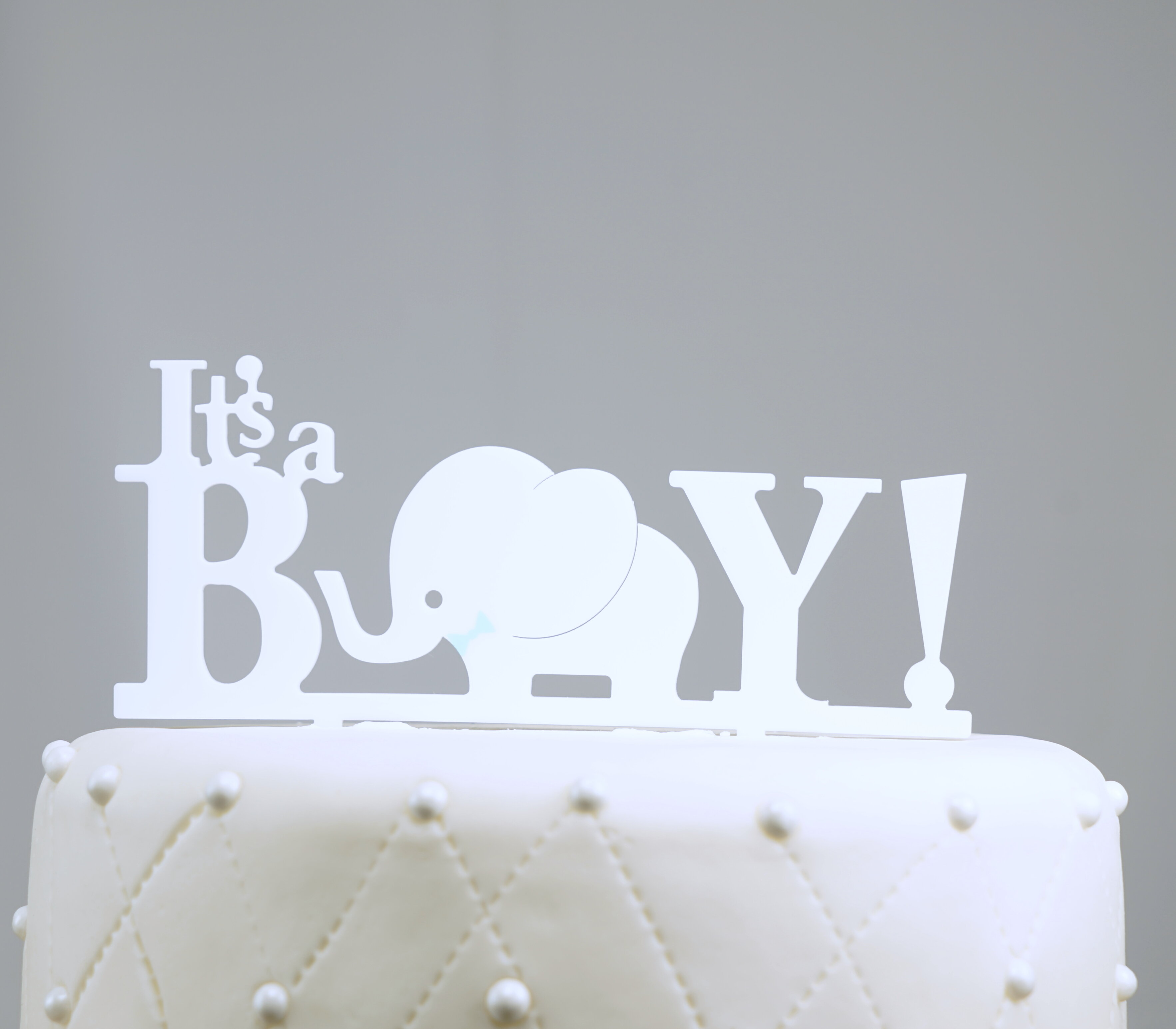 Unik Occasions Twins Acrylic Cake Topper Two Girls