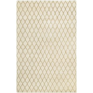 Haymarket Hand-Knotted Tan/Camel Area Rug