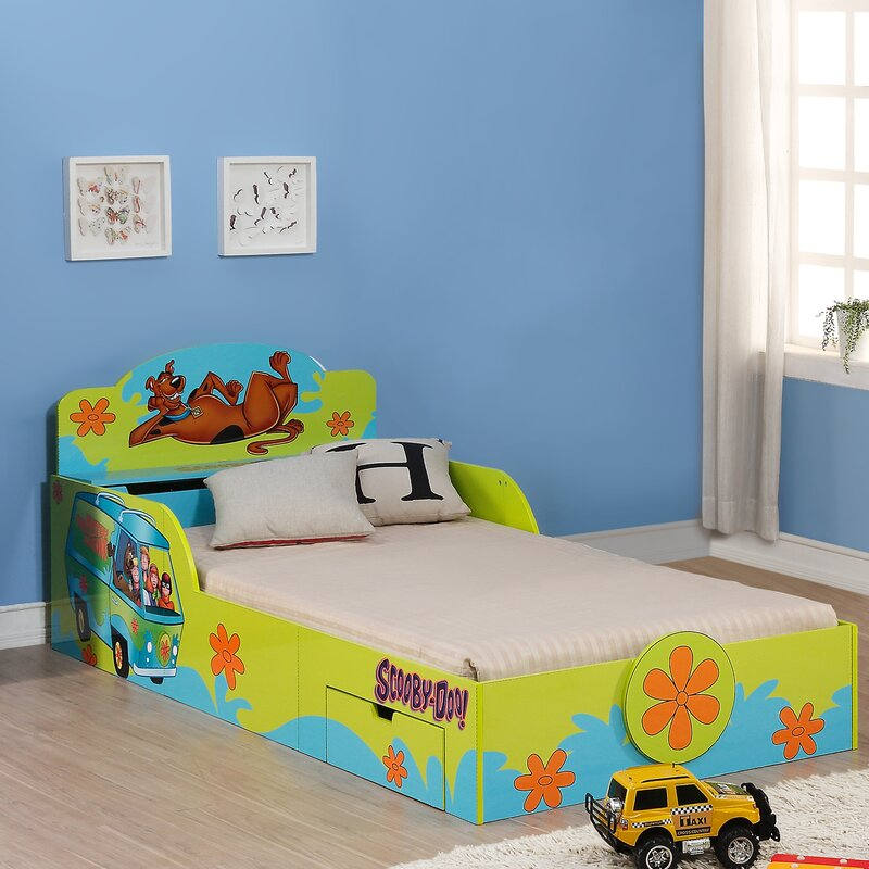 Delicieux Ou0027Kids Inc.Scooby Doo Kidu0027s Twin Platform Bed With Storage