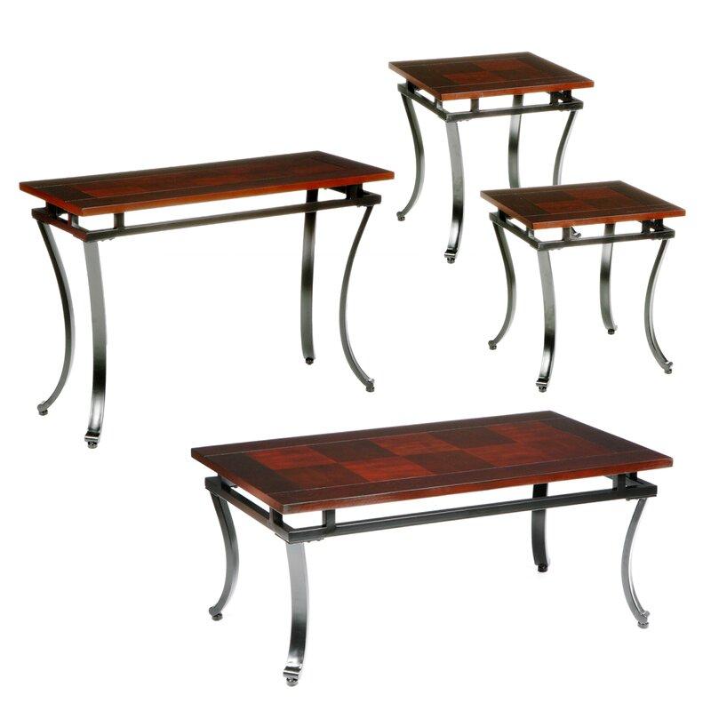 Wildon Home Gurley 4 Piece Coffee Table Set Reviews Wayfair