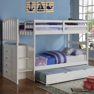 85b5483054a0f Zoomie Kids Josef Twin Platform Bed with Pop-Up Trundle   Reviews ...