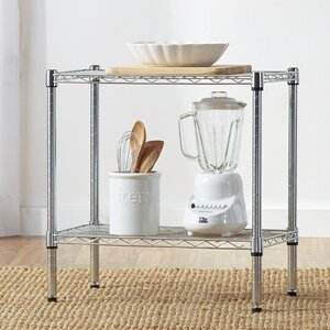 Wayfair Basics 2 Tier Shelving Unit