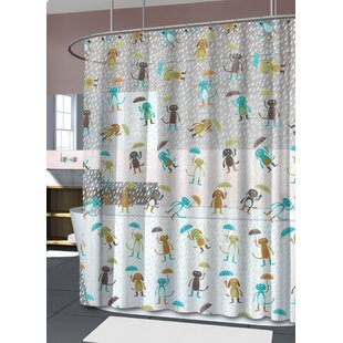 Mingus PEVA 4G Cats Dogs Vinyl Shower Curtain Liner