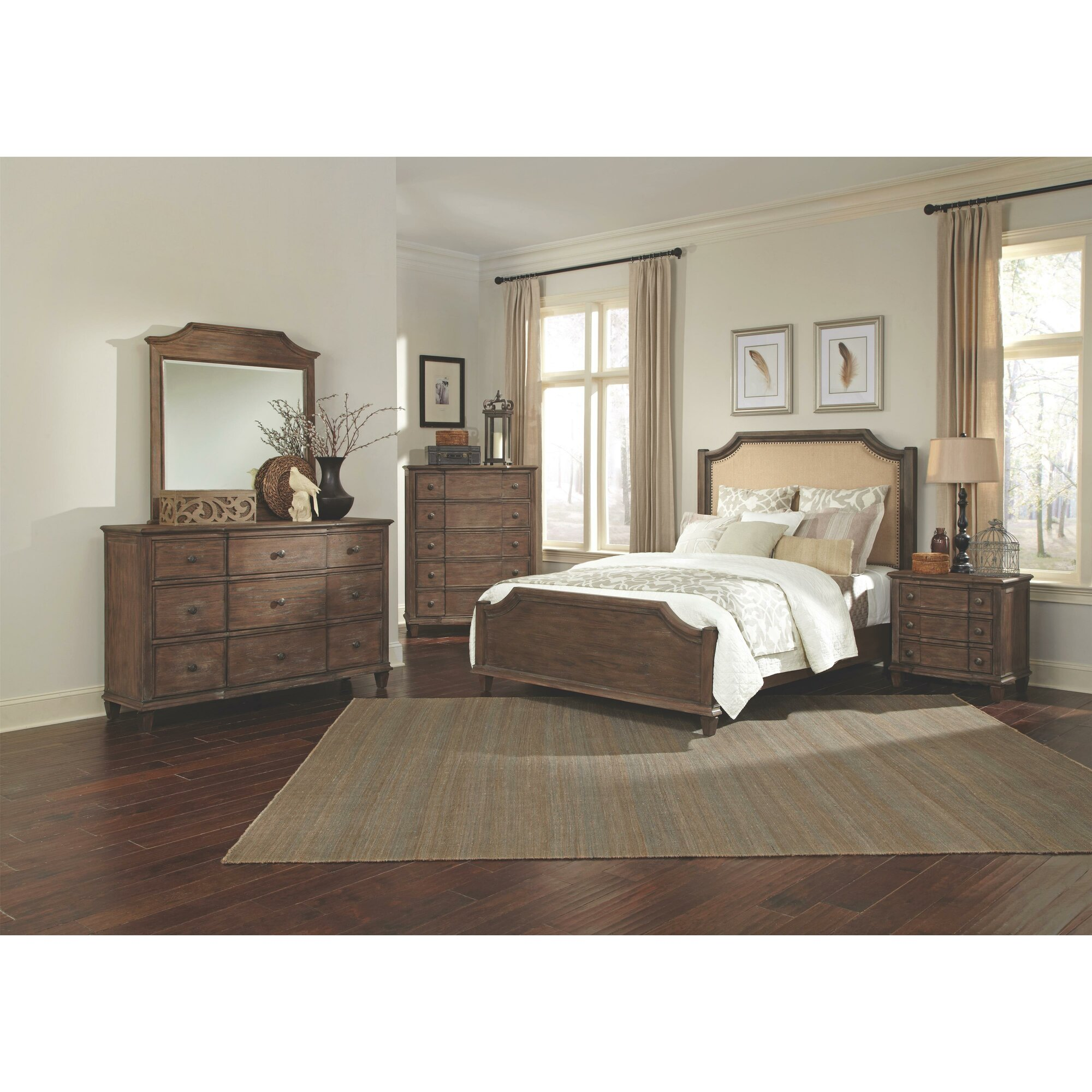 One allium way beula panel customizable bedroom set for R way bedroom furniture
