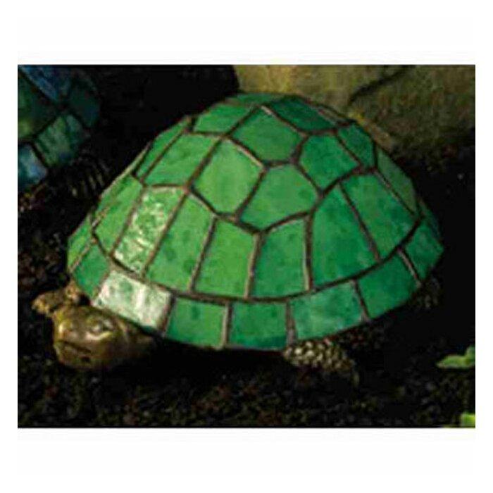 Meyda tiffany turtle tiffany glass accent table lamp with green turtle tiffany glass accent table lamp with green stained glass shade aloadofball Gallery