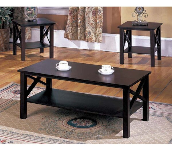 Andover Mills Zelda 3 Piece Coffee Table Set Reviews Wayfair