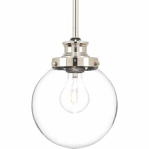 Cayden LED 1-Light Globe Pendant  sc 1 st  Wayfair & Globe Pendant Lights Youu0027ll Love | Wayfair azcodes.com