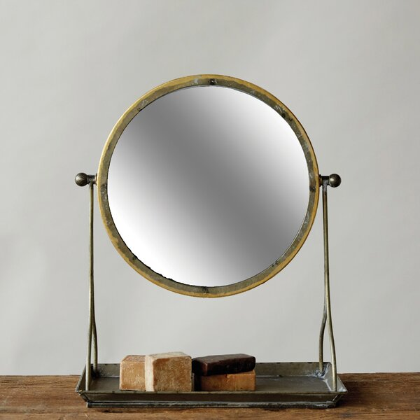 Modern & Contemporary Metal Frame Mirror   AllModern