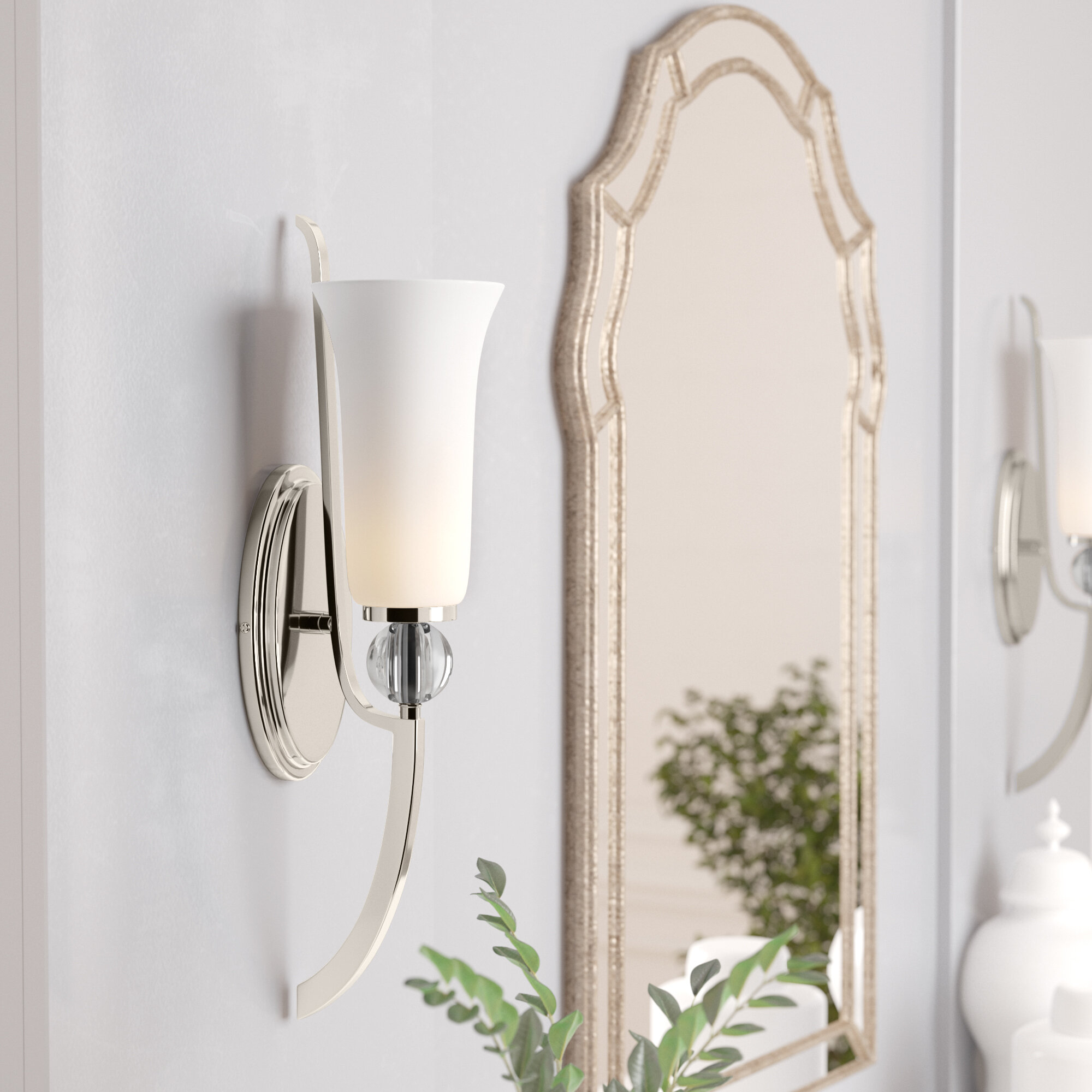Red Barrel Studio Macced 1-Light Bath Sconce & Reviews | Wayfair
