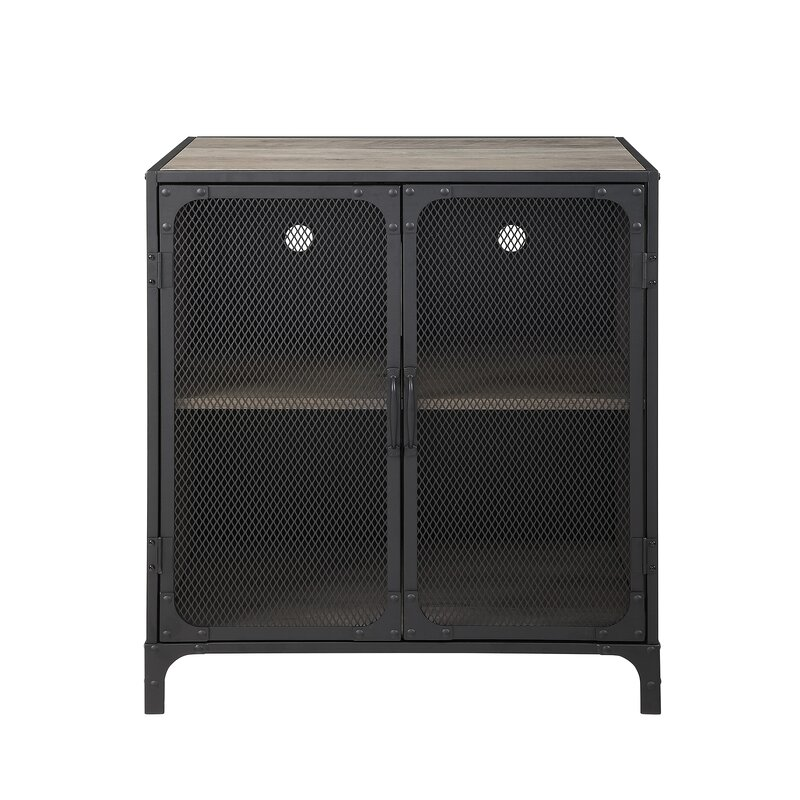 Williston Forge Bowser 2 Door Accent Cabinet Wayfair