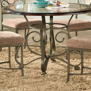 Faux stone dining table wayfair nenuphar dining table workwithnaturefo