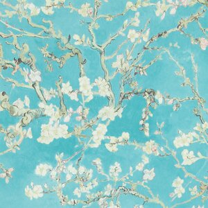Van Gogh Blossoming Almond Trees  33' x 20.8