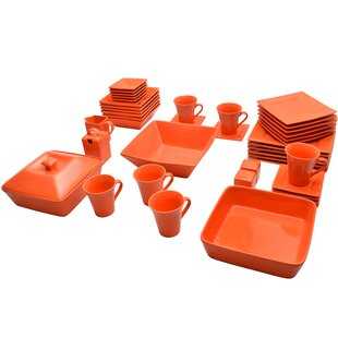 Orange Dinnerware Sets  sc 1 st  Wayfair & Orange Dinnerware Sets Youu0027ll Love | Wayfair