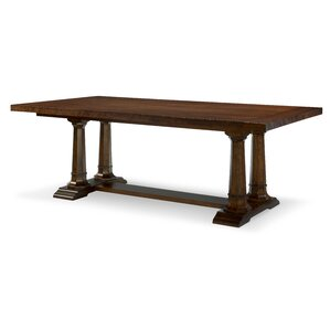 Upstate Trestle Extendable Dining Table b..