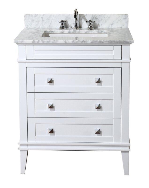 """KBC Eleanor 30"""" Single Bathroom Vanity Set & Reviews"""