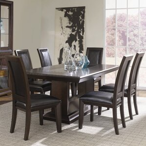 Brentwood 7 Piece Dining Set by Najarian Furniture
