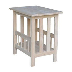 Mission Magazine End Table by International ..