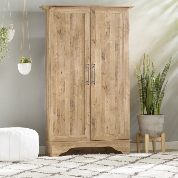 Bungalow Rose Navya Wood Storage Bedroom Bench Reviews: Mistana Collier Storage Cabinet & Reviews