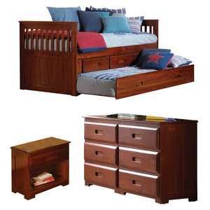 Kaitlyn Twin Panel Configurable Bedroom Set