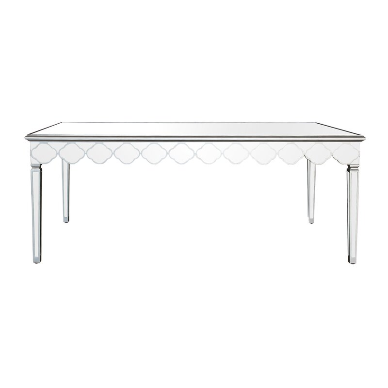 Gentil Naccarato Mirrored Dining Table