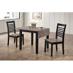 Union Rustic Simmons Casegoods Shepherd 3 Piece Dining Set