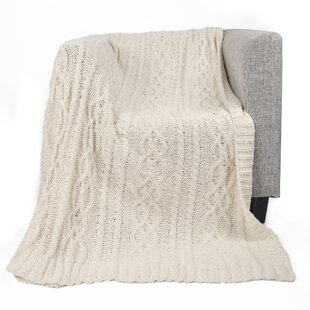 Chunky Knit Blankets You'll Love in 2019 | Wayfair