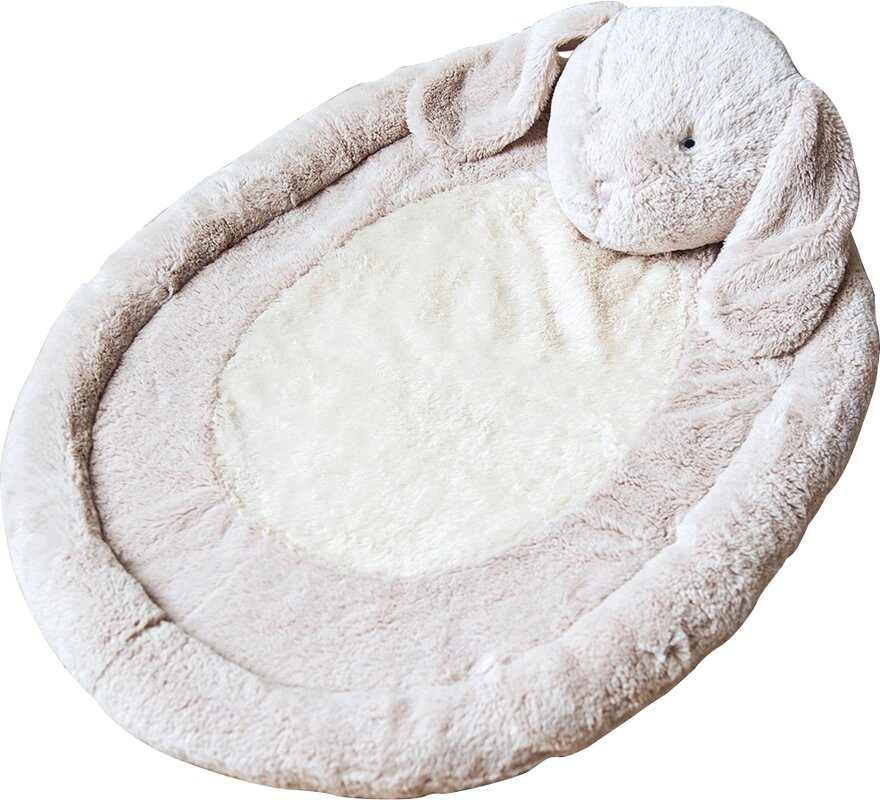 Jojo Maman B 233 B 233 Bunny Baby Mat Amp Reviews Wayfair