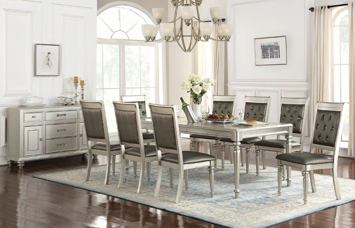 rosdorf park blumer 9 piece dining set wayfair 9 piece kitchen dining room sets sku rosp4943 default name