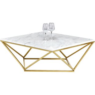 Modern Marble Coffee Tables AllModern - All marble coffee table