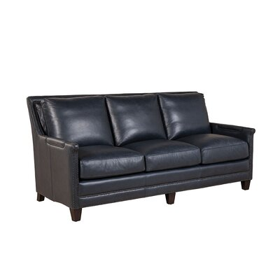 Navy Blue Leather Couch Wayfair
