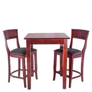Tymon 3 Piece Pub Table Set