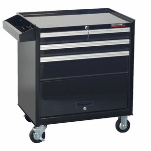 Delicieux Garage 3 Drawer Rolling Tool Cabinet With Storage Compartment