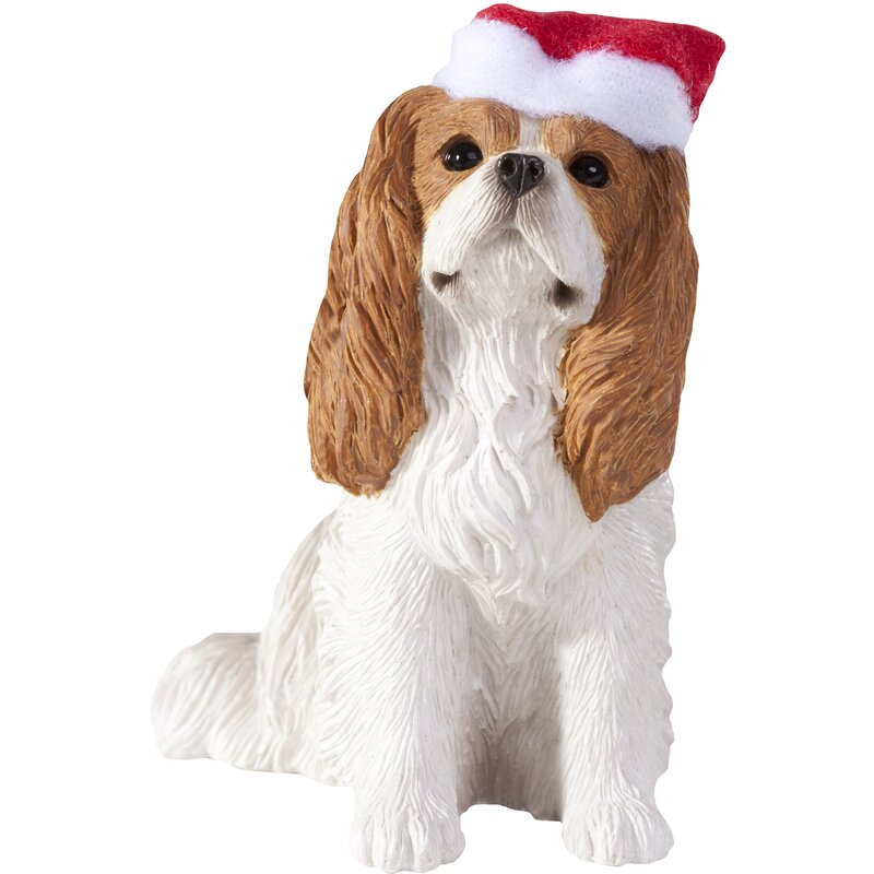 Blenheim Cavalier King Charles Christmas Tree Ornament