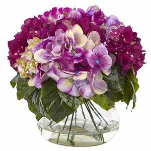 Hydrangea Arrangement in Vase