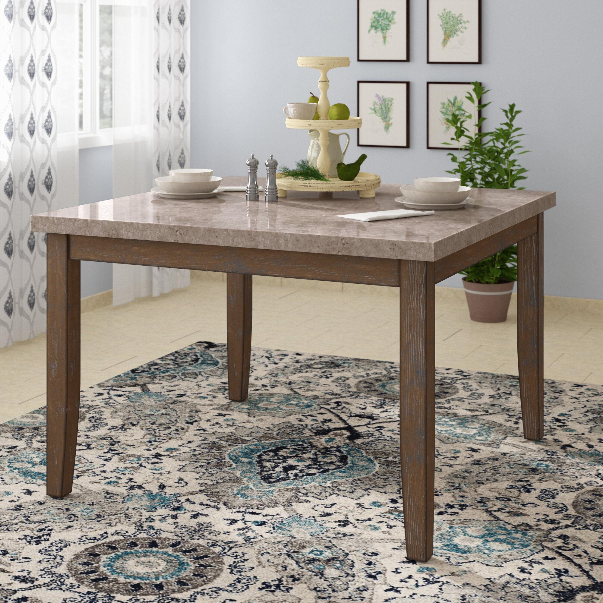 Lark Manor Portneuf Counter Height Dining Table Reviews Wayfair