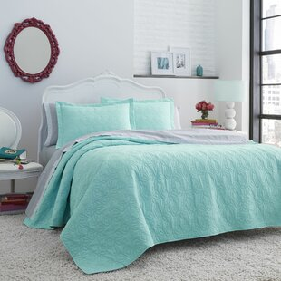 Reversible Quilt Set By Betsey Johnson
