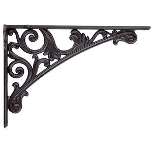 viola decorative shelf bracket