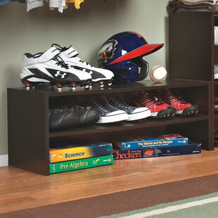 Stackers Horizontal 6 Pair Shoe Rack By Closetmaid