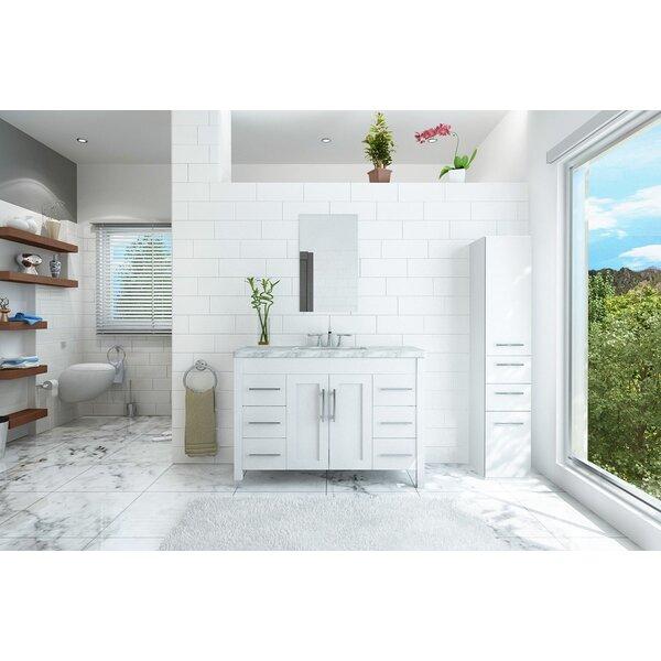 47 inch vanity top wayfair rh wayfair com 47 Double Sink Vanity 47 Bathroom Vanity with Top