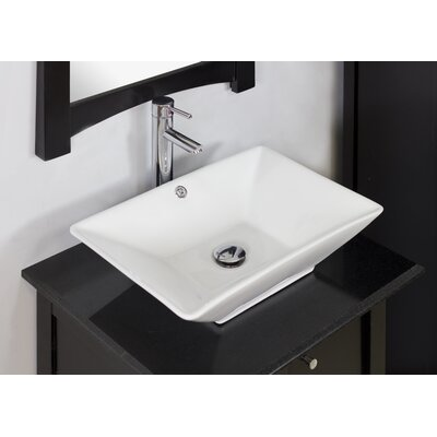 Bathroom Sinks Above Counter american imaginations above counter rectangular vessel bathroom