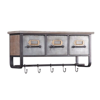 Galvanized Shelf Wayfair